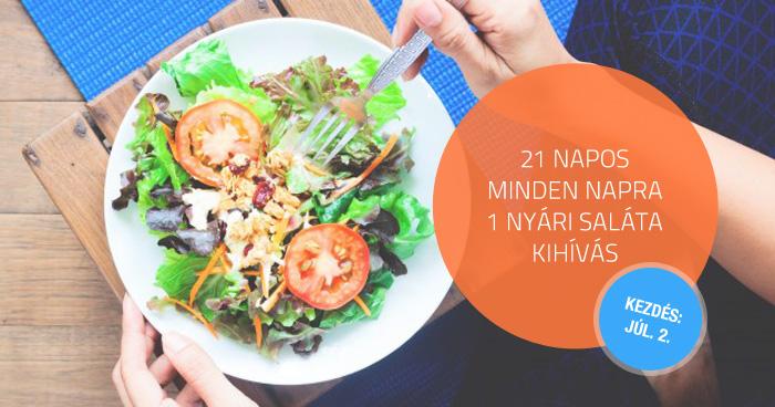 21 napos – minden napra 1 nyári saláta kihívás