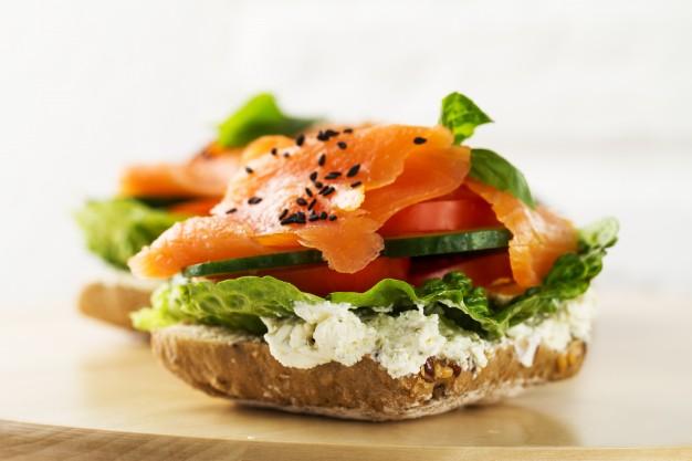 Az egészséges szendvics összetevői