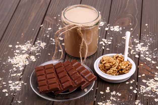 Forró csokis smoothie