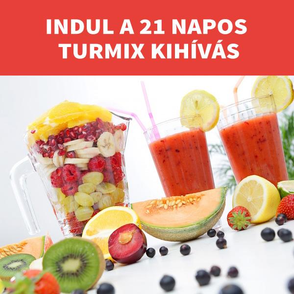 A turmix diéta; 21 napos fogyás program