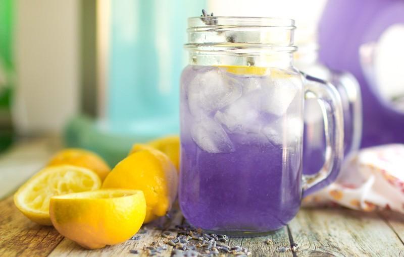Levendulás limonádé cukor nélkül