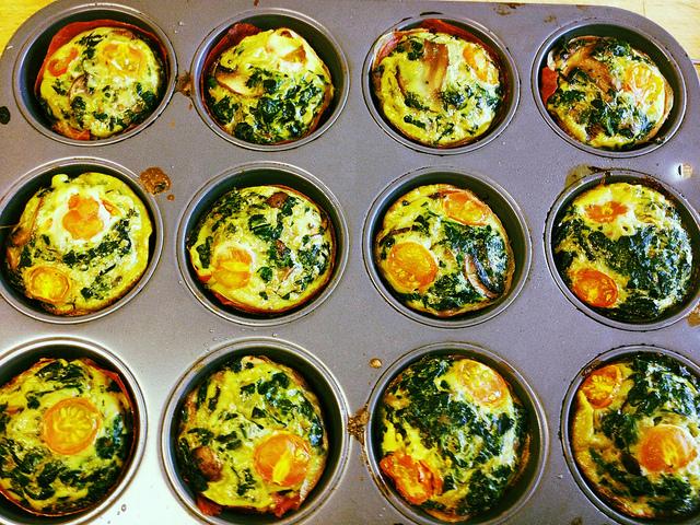 Fűszeres tojásmuffin