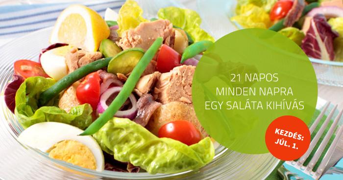 21 napos – minden napra 1 saláta kihívás