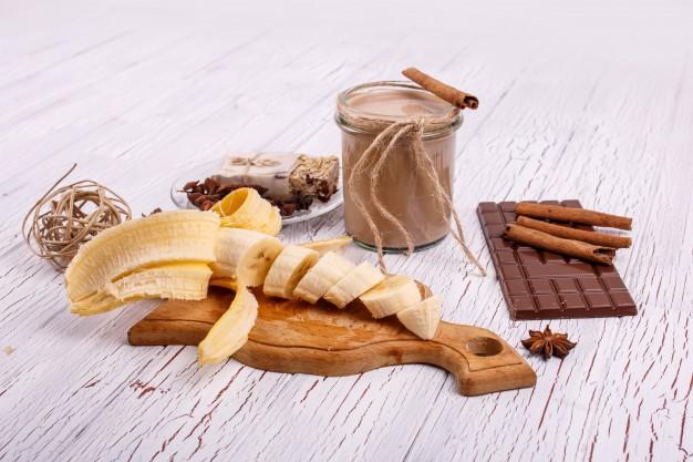 Kávés-banános zabturmix