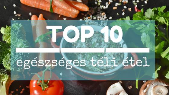 Top 10 egészséges téli étel