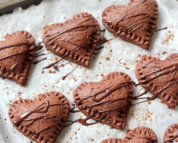 Csokis csokiszív