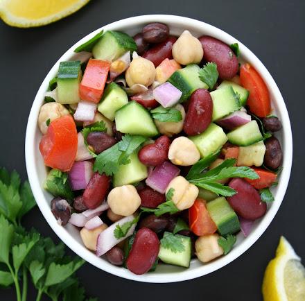 21 napos minden napra 1 nyári saláta kihívás – 9. nap